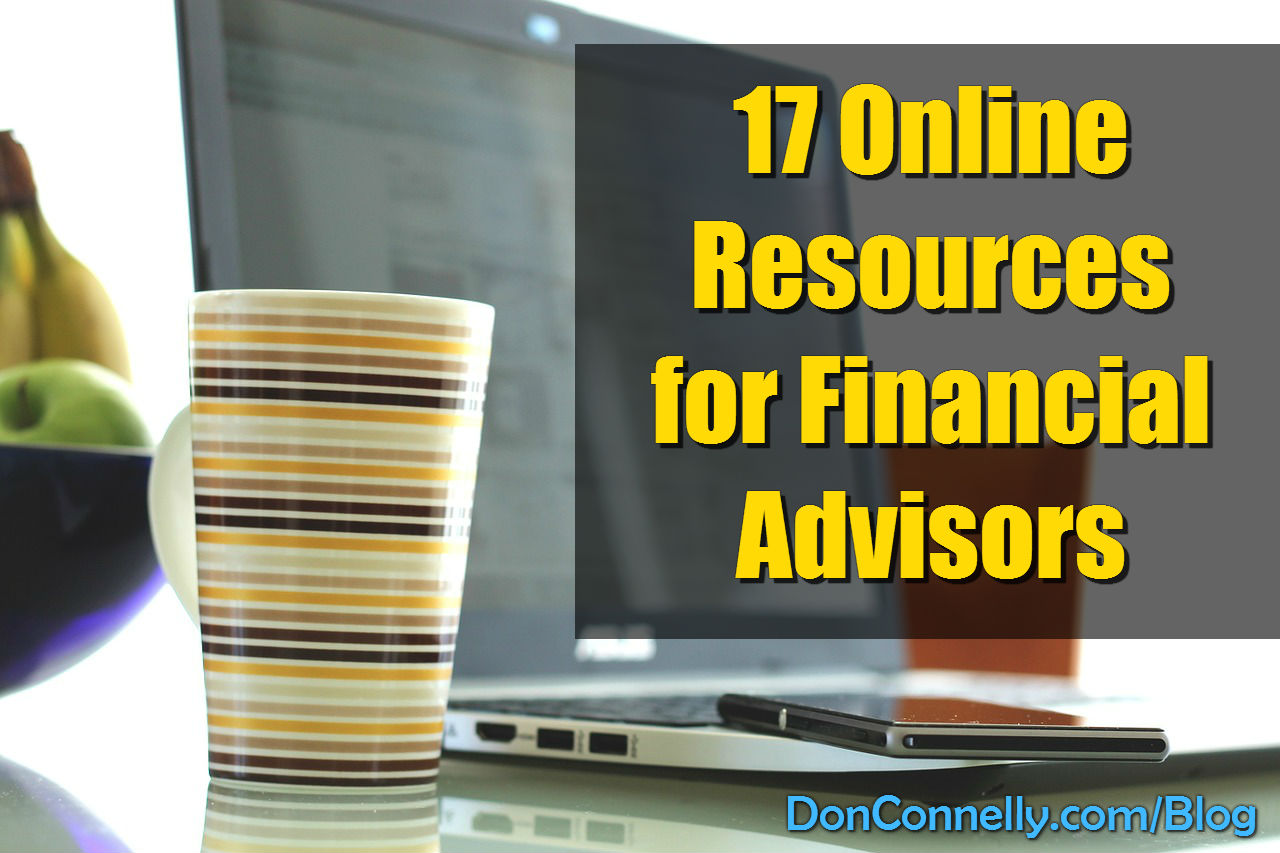 17 Online Resources for Financial Advisors