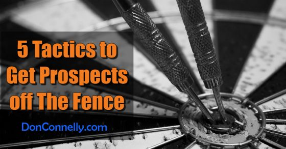 5 Tactics to Get Prospects off The Fence