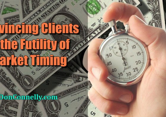 Convincing Clients of the Futility of Market Timing
