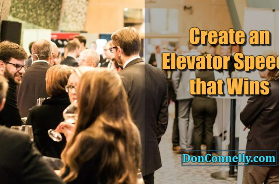 Create an Elevator Speech that Wins