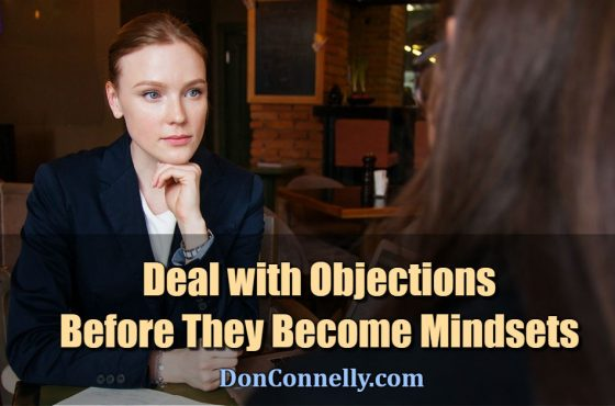 Deal with Objections Before They Become Mindsets