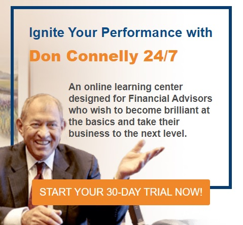 Don Connelly 24/7 - Learning Center for Financial Advisors
