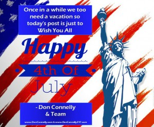 Happy 4th July from Don Connelly & Associates