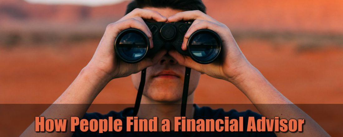 How People Find a Financial Advisor