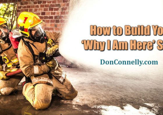 How to Build Your 'Why I Am Here' Story