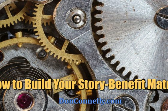 How to Build Your Story-Benefit Matrix