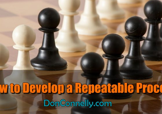 How to Develop a Repeatable Process
