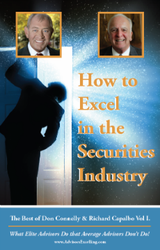 How to Excel in the Securities Business Don onnelly and Richard Capalbo 4-CD set Vol I