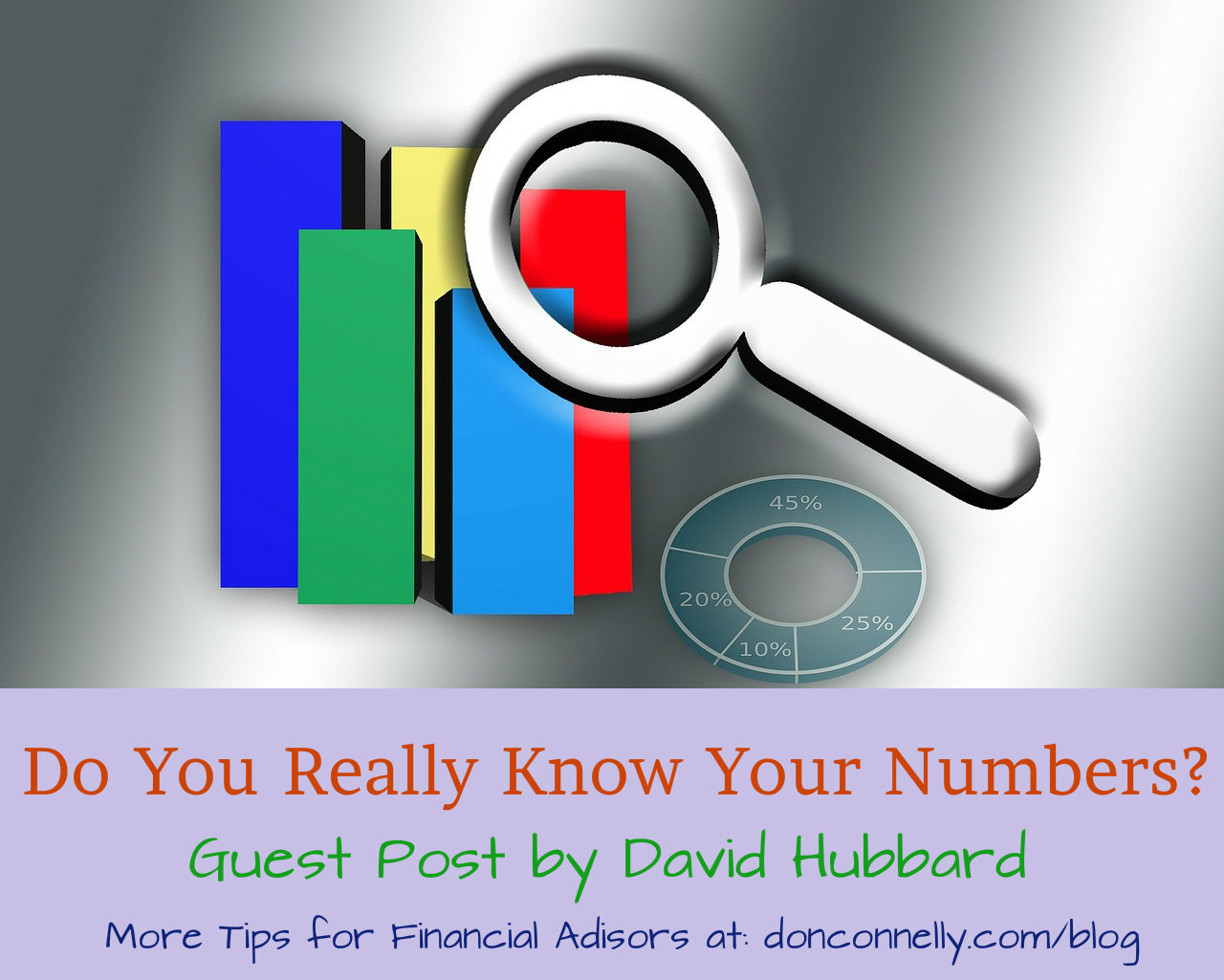 Know Your Numbers - Financial Advisors Tips