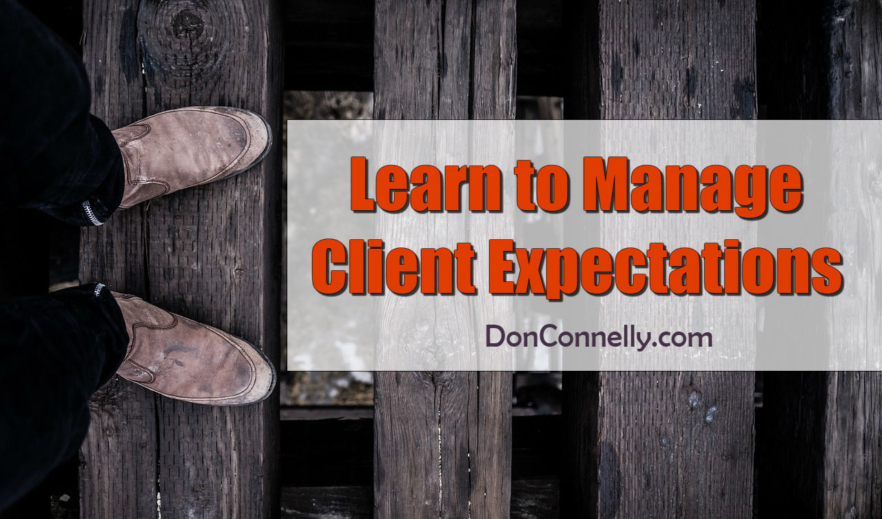Learn to Manage Client Expectations