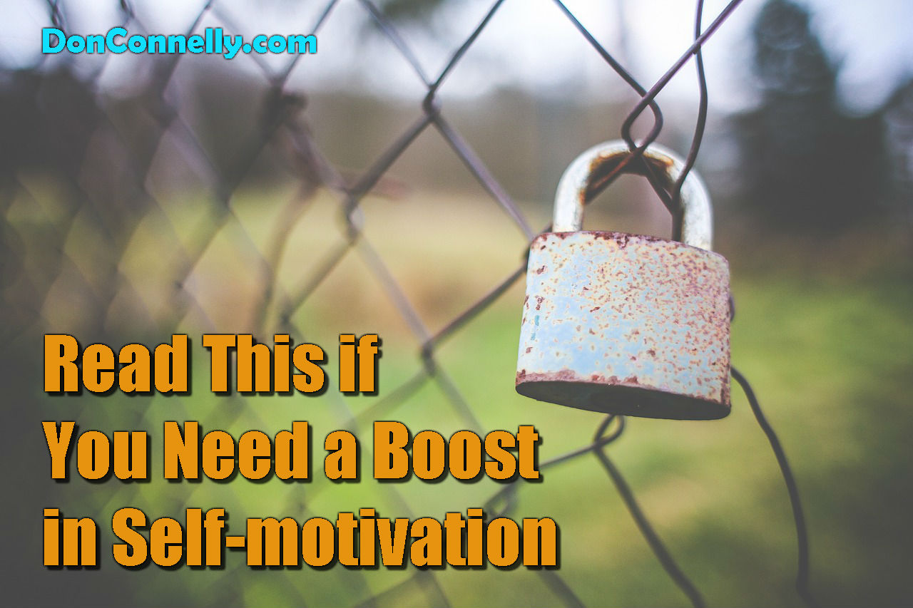Read This if You Need a Boost in Self-motivation