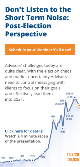 Don't Listen to the Short-term Noise: Post-election Perspective conference call/webinar - sidebar banner