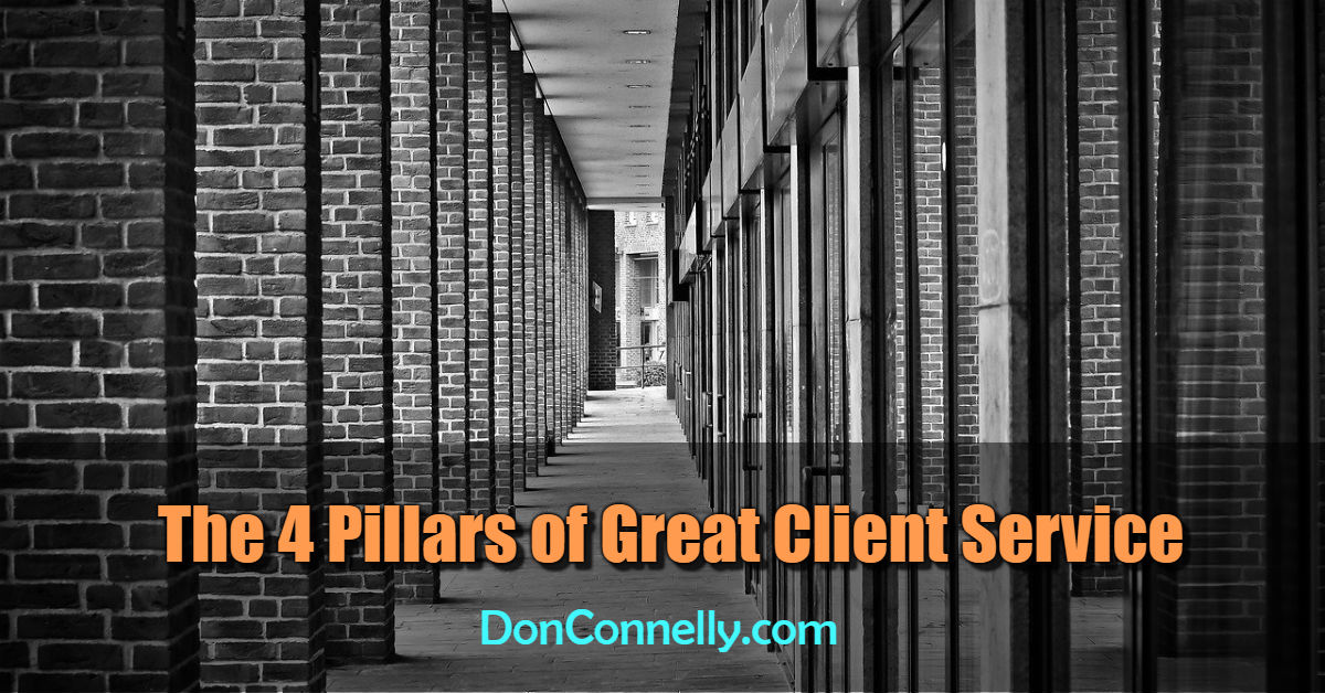 The 4 Pillars of Great Client Service