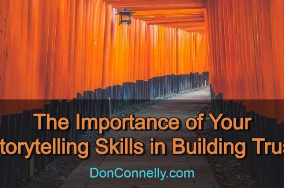 The Importance of Your Storytelling Skills in Building Trust