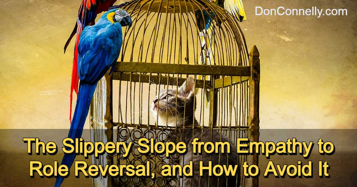 The Slippery Slope from Empathy to Role Reversal, and How to Avoid It