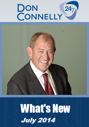 What's New Don Connelly 247 July 2014