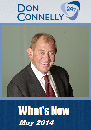 What's New Don Connelly 247 May 2014