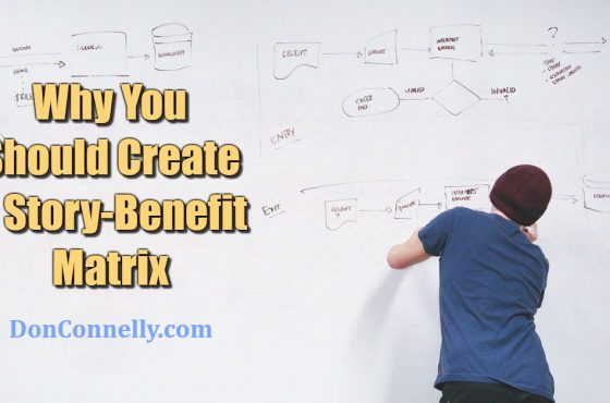 Why You Should Create a Story-Benefit Matrix